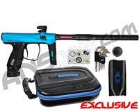 SP Shocker XLS Paintball Gun - Teal/Black/Black w/ Black ASA