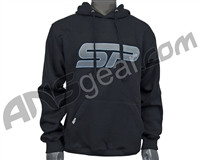 SP Logo Pull Over Hooded Sweatshirt - Black