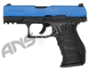 T4E .43 Cal Walther PPQ M2 LE Training Paintball Pistol w/ Extra Magazine (2292104) - Blue/Black