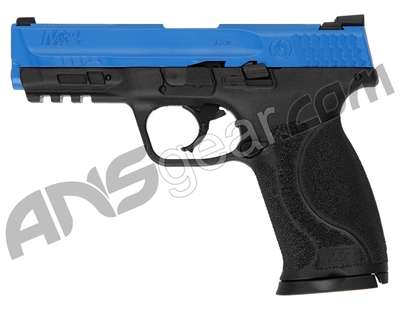 T4E .43 Cal Smith & Wesson M&P 2.0 Training Paintball Pistol (2292125) - Blue/Black