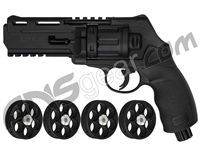 T4E .50 Cal TR50 Paintball Revolver - Black
