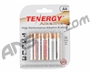 Tenergy AA Size Alkaline Batteries (4 Pack)