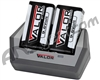 Tenergy Valor 9.6V 230mAh Rechargeable Battery & Charger Kit
