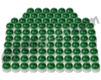Tiberius Arms First Strike .50 Caliber Paintballs 100 Count - Clear Shell Green Fill