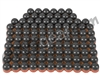 Tiberius Arms First Strike Paintballs 100 Count - Smoke/Copper Shell - Blue Fill