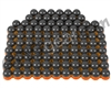 Tiberius Arms First Strike Paintballs 100 Count - Smoke/Orange Shell - Orange Fill