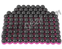 Tiberius Arms First Strike Paintballs 100 Count - Smoke/Pink Shell - Pink Fill