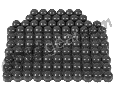 Tiberius Arms First Strike Paintballs 100 Count - Smoke/Smoke Shell - Green Fill