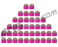 Tiberius Arms First Strike FSR Paintballs 40 Count - Silver/Pink Shell - Pink Fill