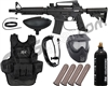 Tippmann Bravo One Elite Tactical Heavy Gunner Paintball Gun Package Kit