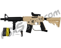 Tippmann US Army Alpha Black Elite Tactical Sniper Paintball Gun Package Kit - Tan