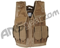 Tippmann Tactical Airsoft Vest - Coyote Tan (69129)