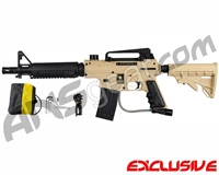 Tippmann US Army Alpha Black Elite Tactical Paintball Gun - Tan