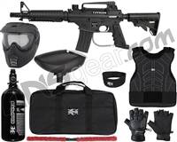 Tippmann Bravo One Elite Tactical Level 1 Protector Paintball Gun Package Kit