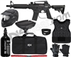 Tippmann Bravo One Elite Tactical Level 2 Protector Paintball Gun Package Kit