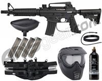Tippmann Bravo One Elite Tactical Epic Paintball Gun Package Kit