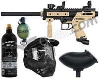Tippmann Cronus Paintball Gun Grenadier Package - Tan
