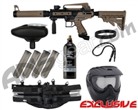 Tippmann .50 Caliber Cronus Tactical Epic Paintball Gun Package Kit - Black/Dark Earth
