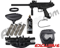 Tippmann Cronus Epic Paintball Gun Package Kit - Black/Black