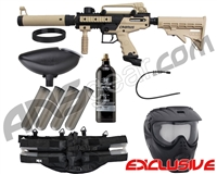 Tippmann Cronus Tactical Epic Paintball Gun Package Kit - Tan/Black