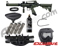 Tippmann Cronus Tactical Epic Paintball Gun Package Kit - Olive/Black