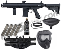 Tippmann Stormer Elite Dual Fed Epic Paintball Gun Package Kit