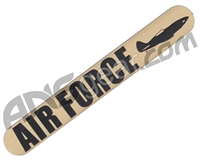 Tippmann 98 Gun Tag - Air Force - Gold
