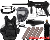 Tippmann A5 RT Heavy Gunner Paintball Gun Package Kit