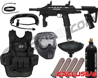 Tippmann Tactical Compact Rifle (TCR) Heavy Gunner Paintball Gun Package Kit