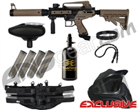 Tippmann .50 Caliber Cronus Tactical Legendary Paintball Gun Package Kit - Black/Dark Earth