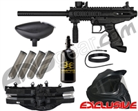 Tippmann Cronus Legendary Paintball Gun Package Kit - Black/Black