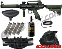 Tippmann Cronus Tactical Legendary Paintball Gun Package Kit - Olive/Black