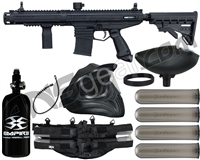 Tippmann Stormer Elite Dual Fed Legendary Paintball Gun Package Kit