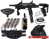 Tippmann Tactical Compact Rifle (TCR) Legendary Paintball Gun Package Kit