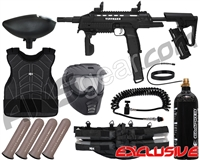 Tippmann Tactical Compact Rifle (TCR) Light Gunner Paintball Gun Package Kit