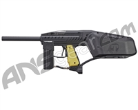 Tippmann Raider Rental Paintball Gun - Black w/ Yellow Grips