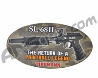 "Tippmann SL-68 Sticker - 15 1/2"" x 8 1/2"""