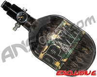Tippmann Mega Lite 48/4500 Compressed Air Paintball Tank - Camo (Smoke)