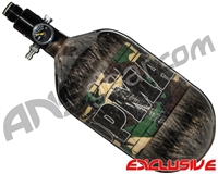 Tippmann Mega Lite 68/4500 Compressed Air Paintball Tank - Camo (Smoke)