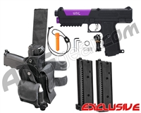 Tippmann TiPX Trufeed Deluxe Pistol Kit - Black/Electric Purple