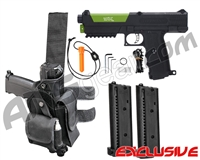 Tippmann TiPX Trufeed Deluxe Pistol Kit - Black/Sour Apple