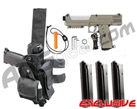 Tippmann TiPX Trufeed Deluxe Pistol Kit - Dark Earth/Storm Trooper