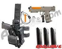 Tippmann TiPX Trufeed Deluxe Pistol Kit - Dark Earth/Sunburst Orange