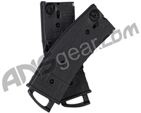 Tippmann TMC .68 Caliber 20 Round Magazine - 2 Pack w/ Coupler - Black (16452)