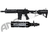 Tippmann TMC Paintball Gun w/ Air-Thru Adjustable Stock & FREE 13/3000 Tank - Black/Black