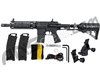 Tippmann TMC Paintball Gun w/ Air-Thru Adjustable Stock - Black/Black