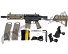 Tippmann TMC Paintball Gun w/ Air-Thru Adjustable Stock - Black/Tan