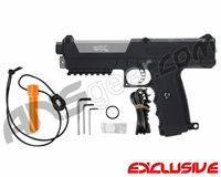 Tippmann TiPX Trufeed Paintball Pistol - Black/Dust Silver