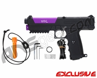 Tippmann TiPX Trufeed Paintball Pistol - Black/Electric Purple