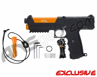 Tippmann TiPX Trufeed Paintball Pistol - Black/Sunburst Orange